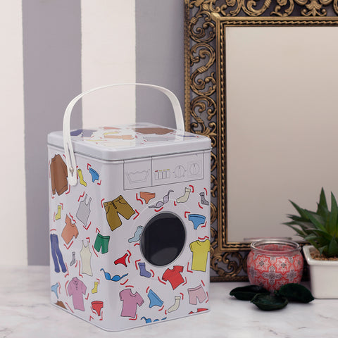 Washing Clothes Detergant Powder Storage Box