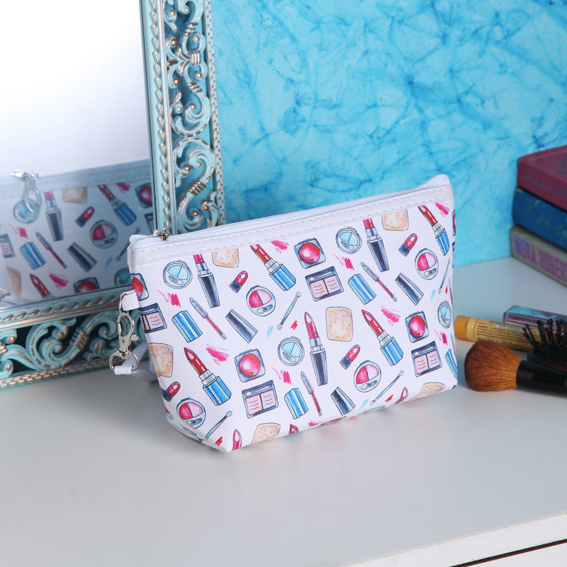 Rectangle long cosmetic multipurpose pouch
