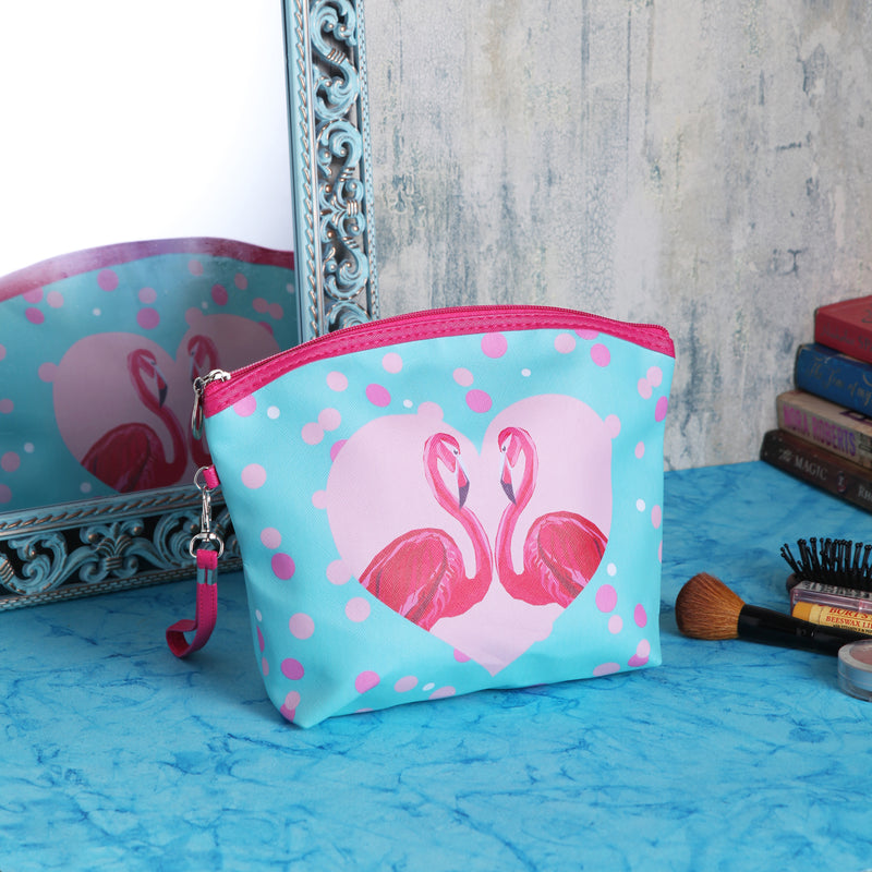 Flamingo Cosmetic Multipurpose Pouch