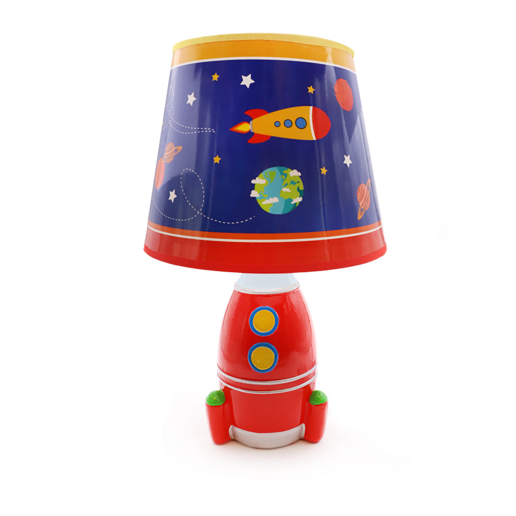 Red Space Lamp
