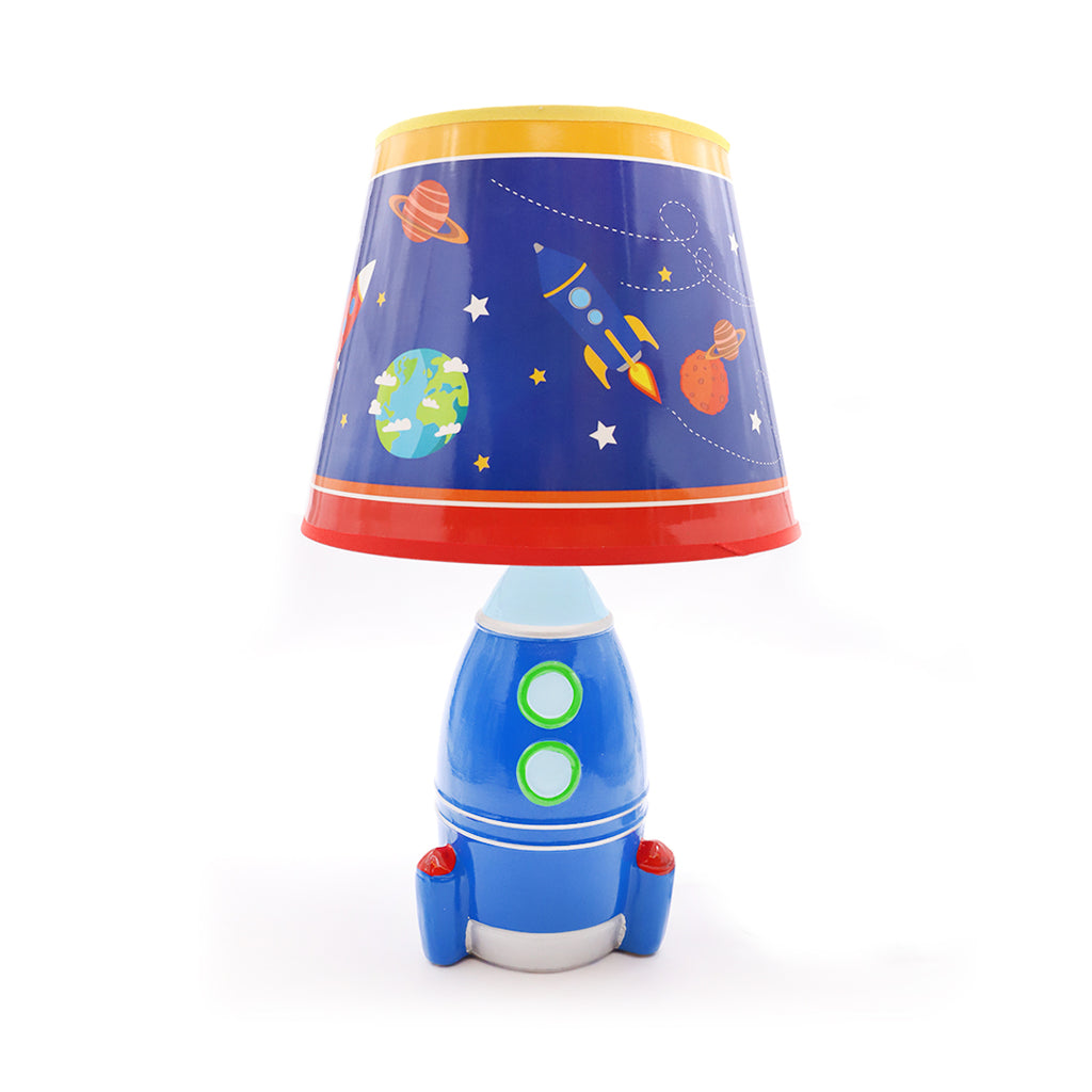 Blue Space Lamp