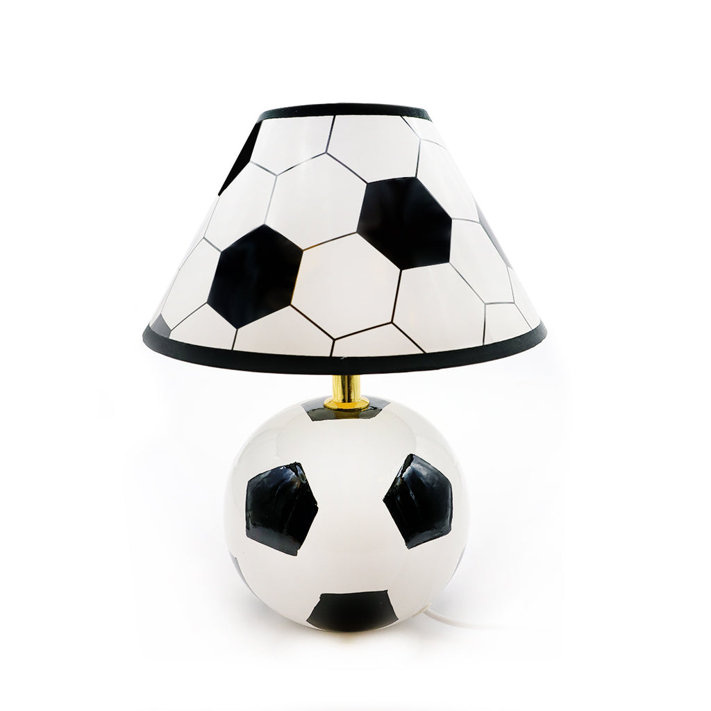 White Football Lamp