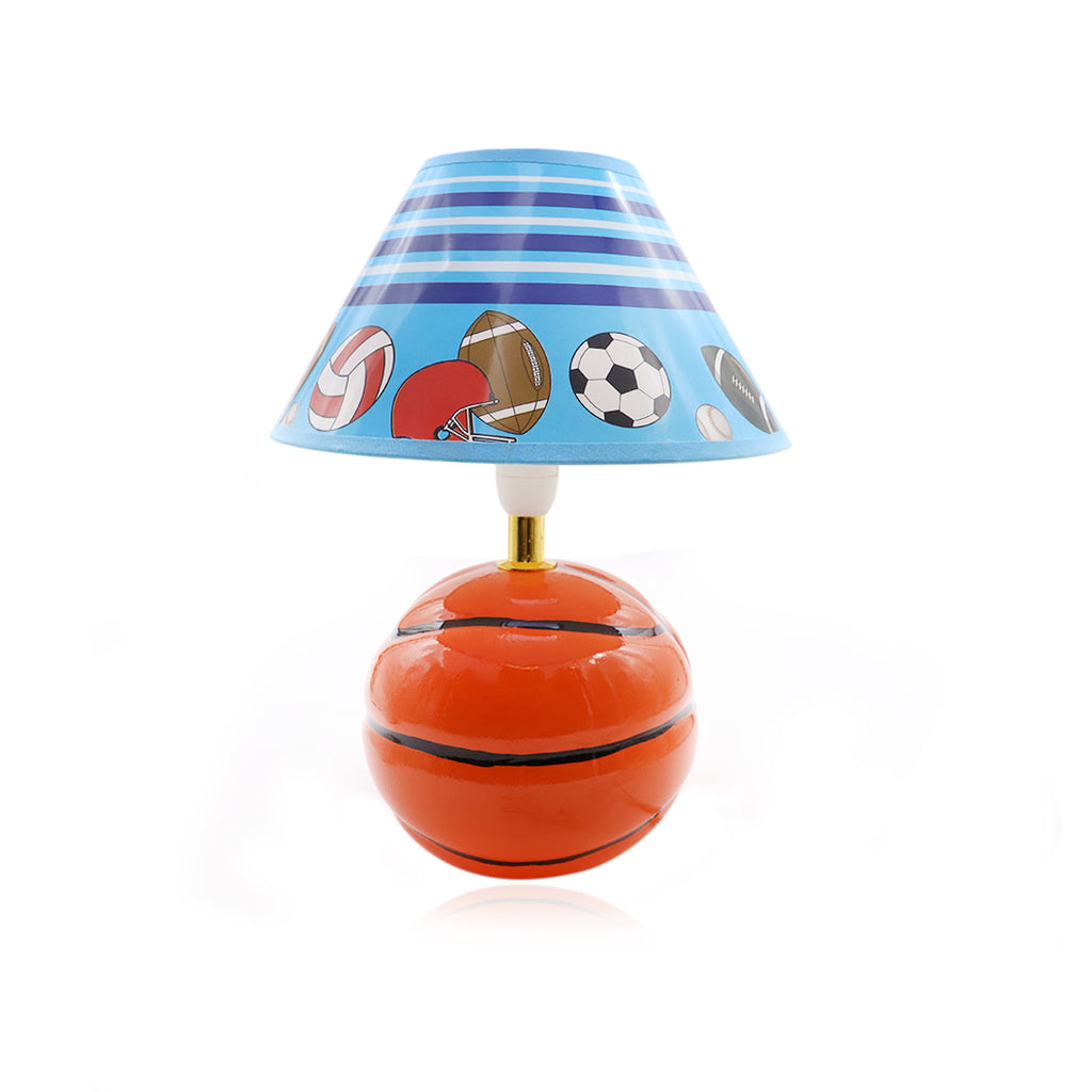 Brown Basketball Lamp