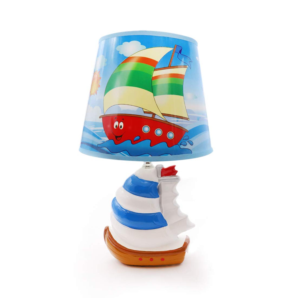 Blue Nautical Lamp
