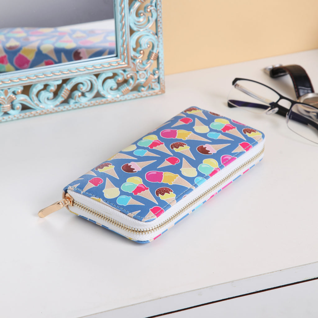Cool ice creams wallet