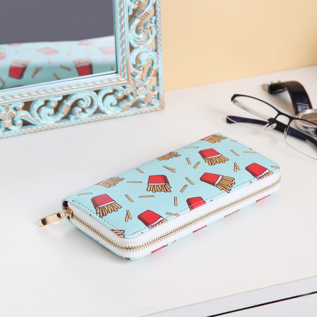 Funky frech fries wallet