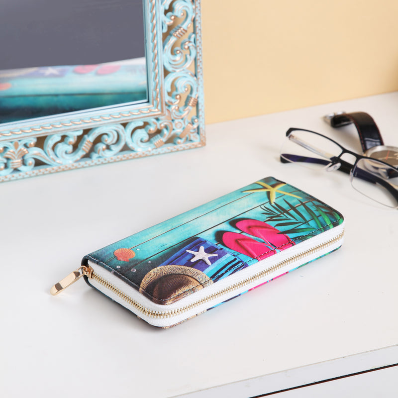 Beach holiday wallet