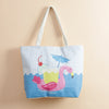 Pool Party Flamingo Tote Bag