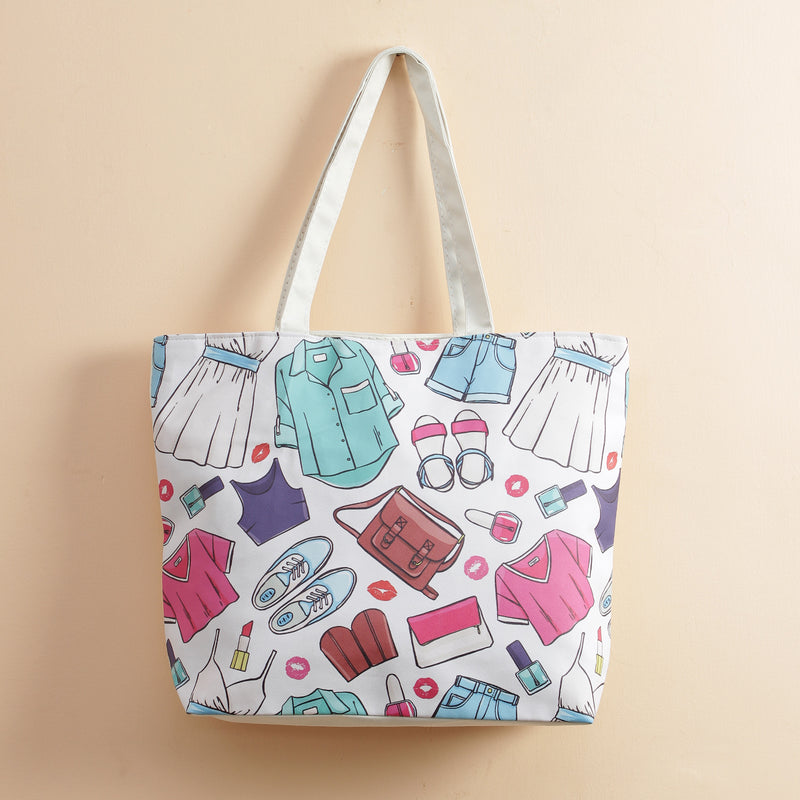 Funky Dress Up Tote Bag