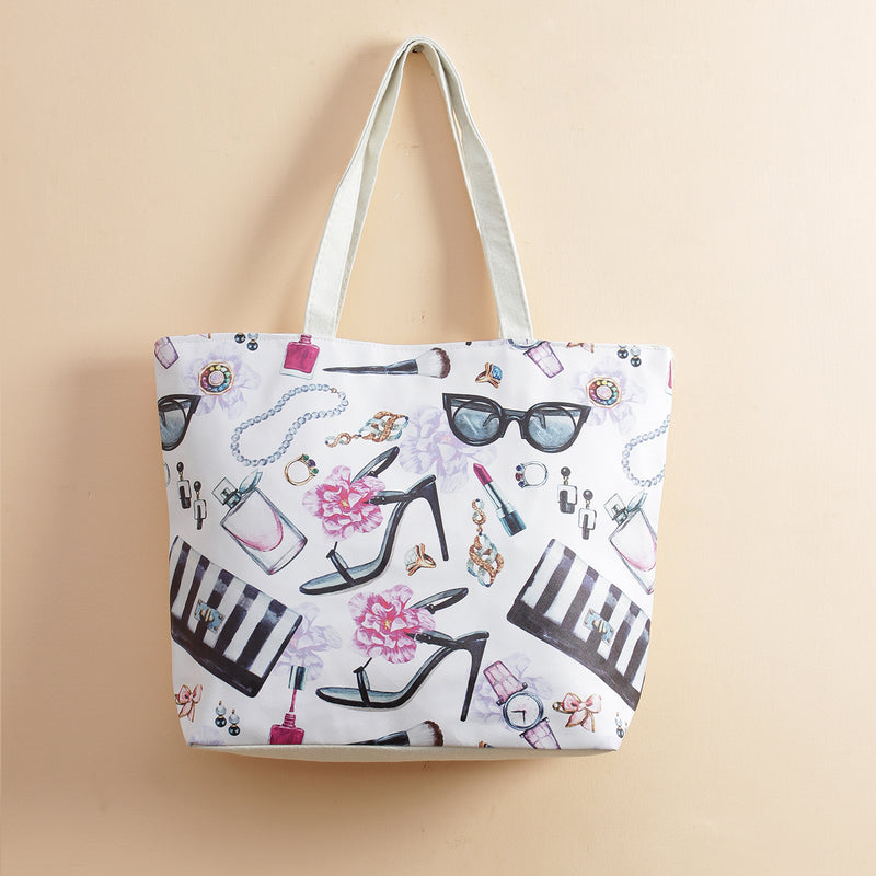 High Heels & Sunglasses Tote Bag