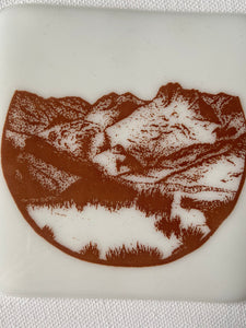 Printed Coaster by Elizabeth Annie