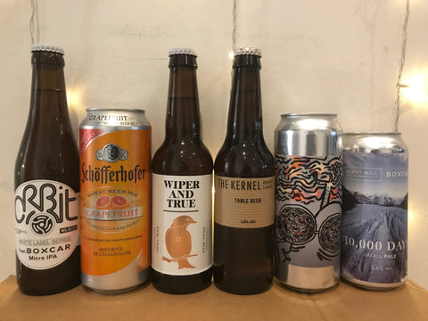 Quite low ABV beers