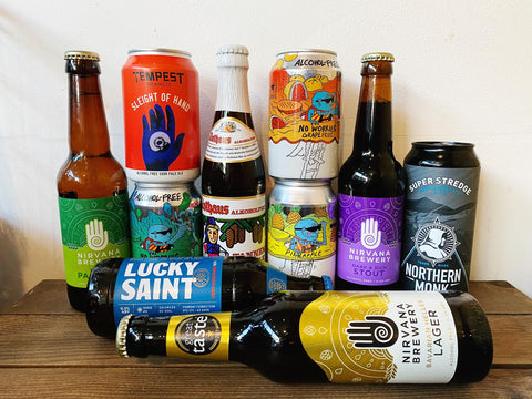 Alcohol-free and low alcohol craft beers from Caps and Taps