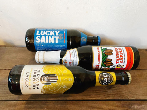 Alcohol-free lager beers from Caps and Taps