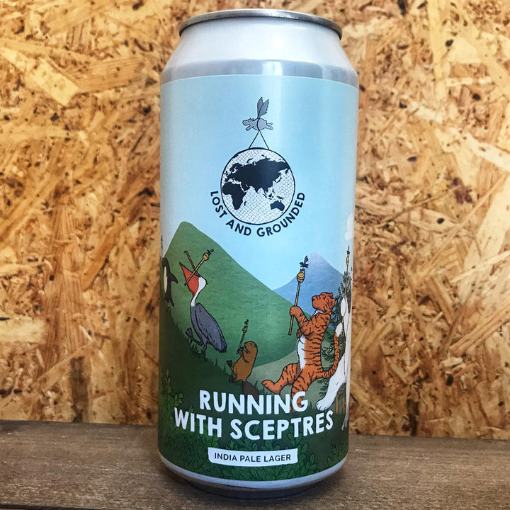 Lost & Grounded Running with Sceptres IPL 5.2% (440ml)