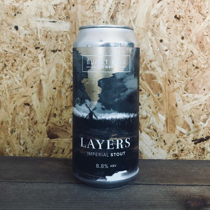 Burnt Mill Layers Imperial Stout 8.8% (440ml)