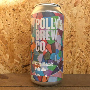 Polly's Brew Co Citra Mosaic Pale Ale 4.2% (440ml)