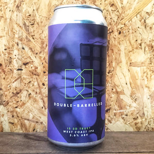 Double-Barrelled Is 3D True? West Coast IPA 5.6% (440ml)