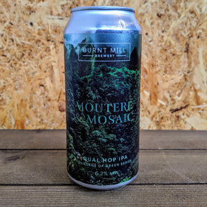 Burnt Mill Gardens of Green Moutere & Mosaic IPA 6.2% (440ml)