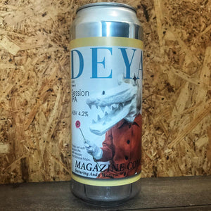DEYA Magazine Cover SIPA 4.2% (440ml)