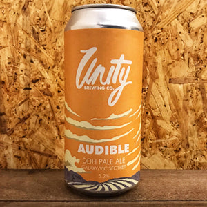 Unity Audible DDH Pale Ale 5.2% (440ml)