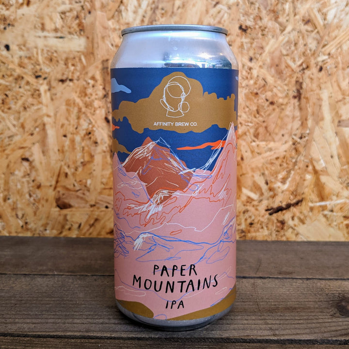Affinity Paper Mountains IPA 6.2% (440ml)