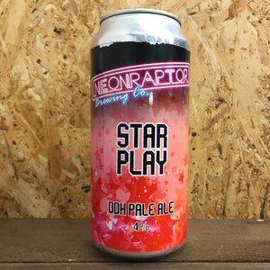 Neon Raptor Star Play DDH Pale Ale 4% (440ml)