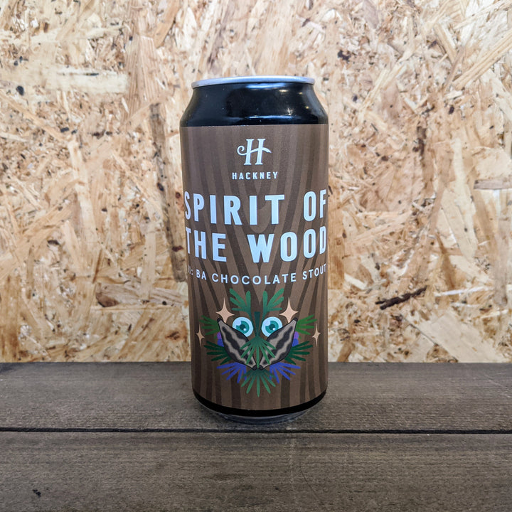 Hackney Spirit of the Wood II Barrel Aged Chocolate Stout 8% (440ml)