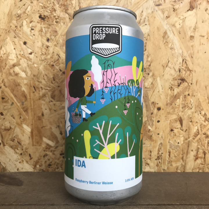 Pressure Drop Ida Raspberry Berliner Weisse 3.8% (440ml)