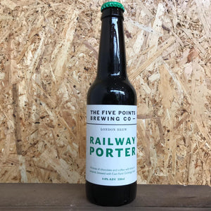 Five Points Railway Porter 4.8% (330ml)