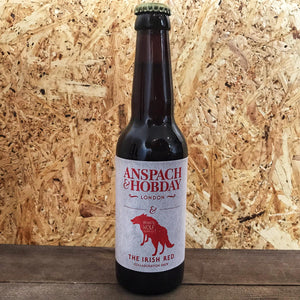 Anspach & Hobday x Wicklow Wolf Irish Red 4% (330ml)