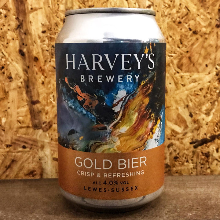 Harvey's Gold Bier Golden Ale 4% (330ml)
