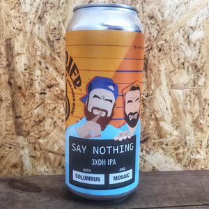 Barrier x Garage Say Nothing TDH IPA 7.4% (473ml)