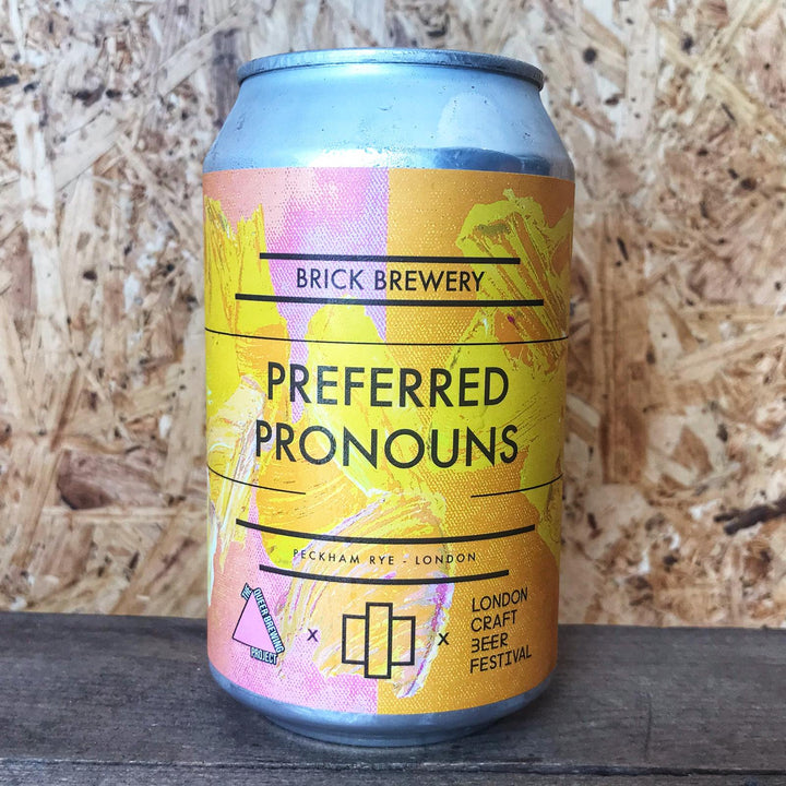 Brick Preferred Pronouns Sour Pale 4.2% (330ml)