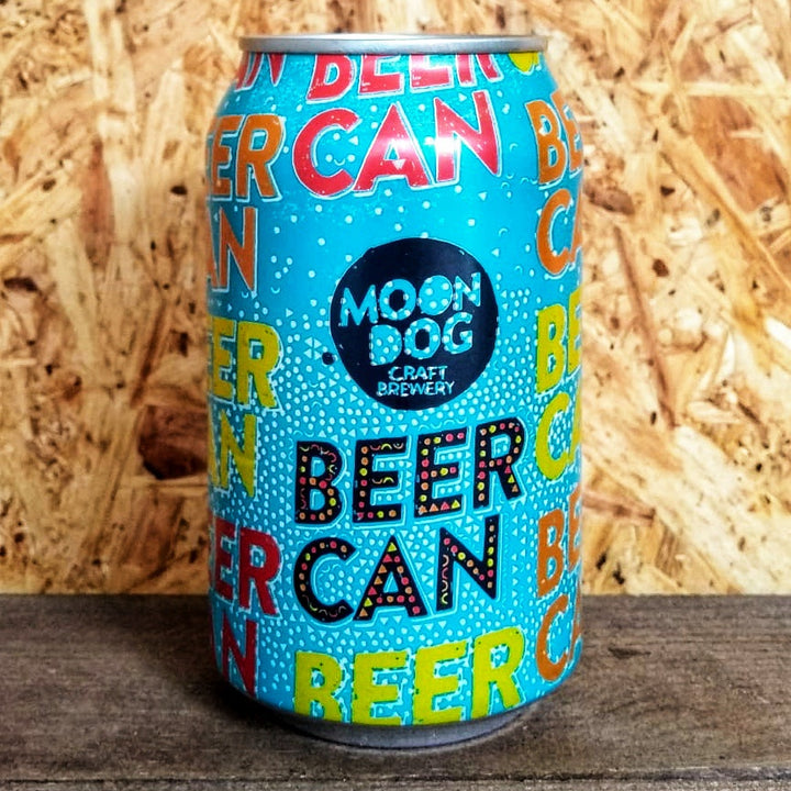 Moondog Beer Can Tropical Lager 4.2% (330ml)