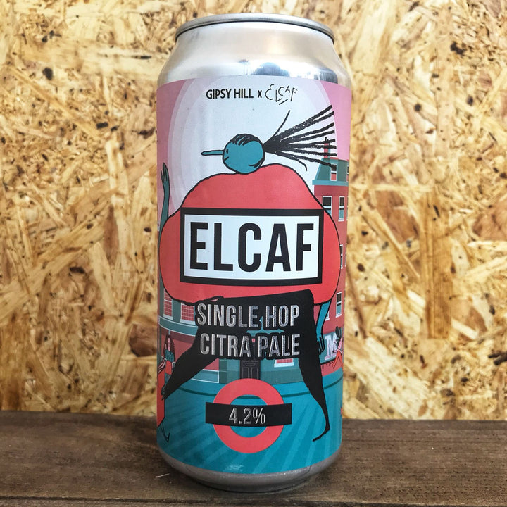 Gipsy Hill ELCAF Citra Pale Ale 4.2% (440ml)