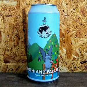 Lost and Grounded Hop Hand Fallacy 4.4% (440ml)