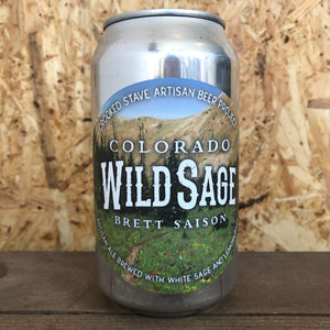 Crooked Stave CO Wild Sage Brett Saison 7.2% (355ml)