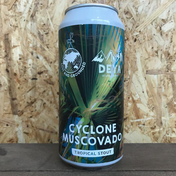 Lost and Grounded x DEYA Cyclone Muscovado 6.5% (440ml)