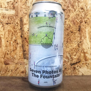 Cloudwater Seven Photos at the Fountain Lager 4.8% (440ml)