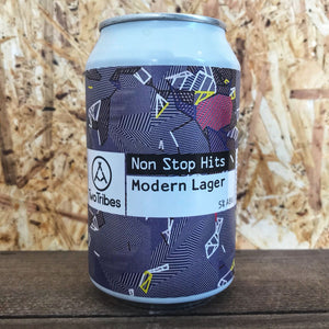 Two Tribes Non Stop Hits Lager 5% (330ml)