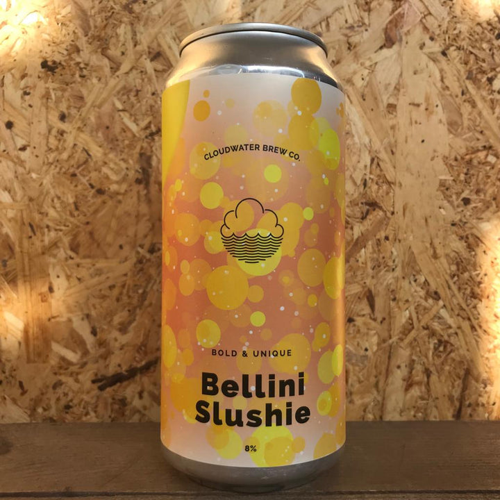 Cloudwater x Evil Twin Peach Bellini Slushi 9% (440ml)