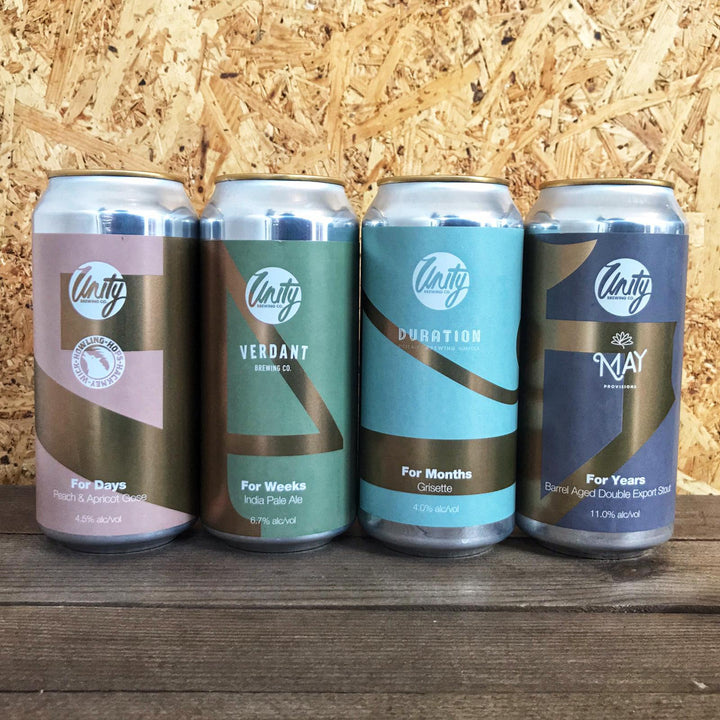Unity 4th Anniversary Pack (4x440ml)