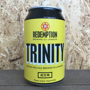 Redemption Trinity Session Pale Ale 3% (330ml)