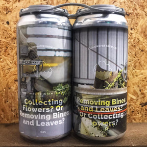 Cloudwater Collecting Flowers? Or Removing Bines and Leaves? Pair 5.5% (2 x 440ml)