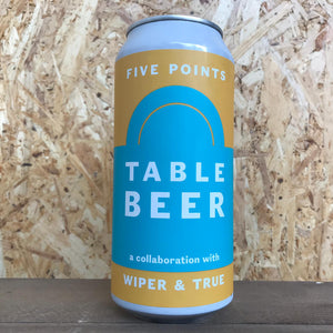 Five Points x Wiper & True Table Beer 2.2% (440ml)
