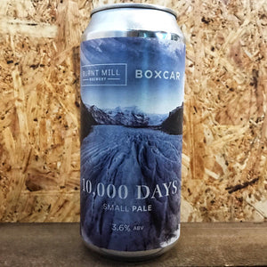 Burnt Mill x Boxcar 10,000 Days Small Pale 3.6% (440ml)