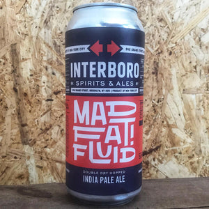 Interboro Mad Fat Fluid IPA 7% (473ml)