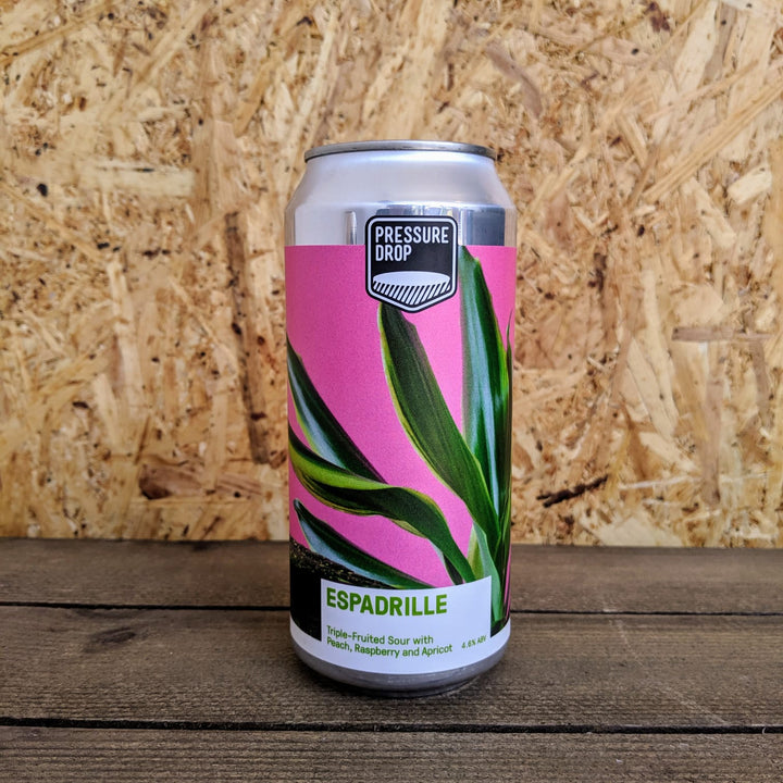 Pressure Drop Espadrille Triple Fruited Sour 4.6% (440ml)