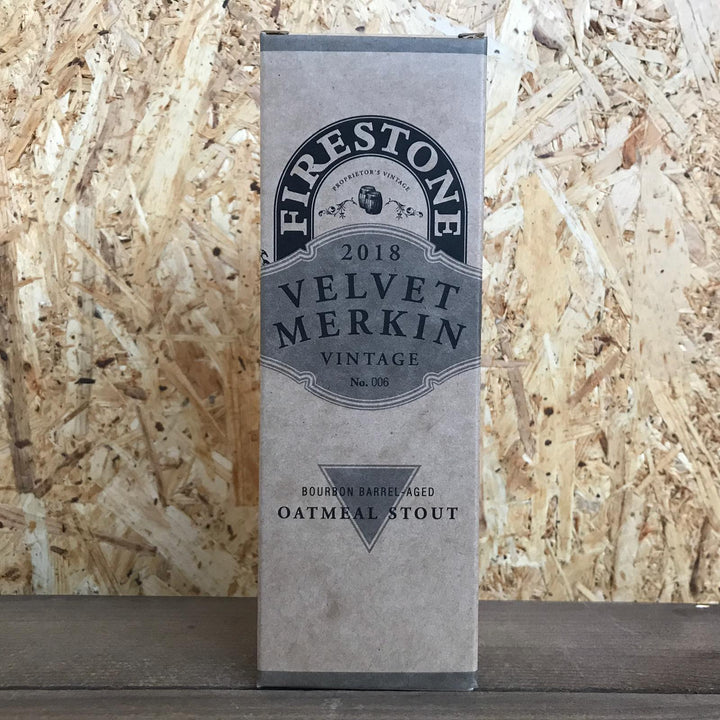 Firestone Walker Velvet Merkin 2018 Oatmeal Stout 8.5% (355ml)